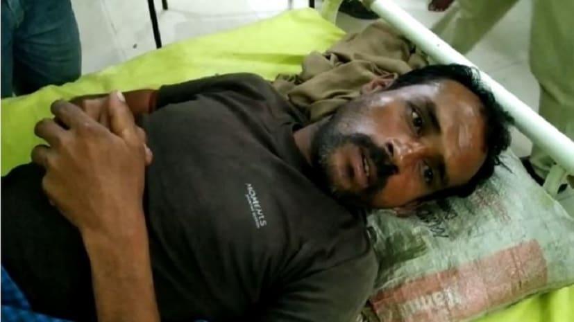 रंगदारी नहीं देने पर बदमाशो ने की अधेड़ की हाथ बांधकर पिटाई, बचाने गयी पत्नी से किया दुष्कर्म का प्रयास