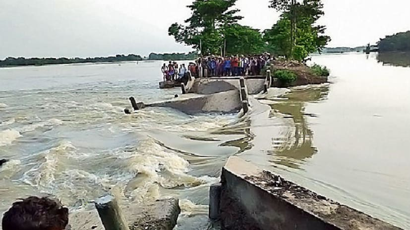 सीतामढ़ी में बाढ़ का कहर, डूबी तीन बच्चियां...