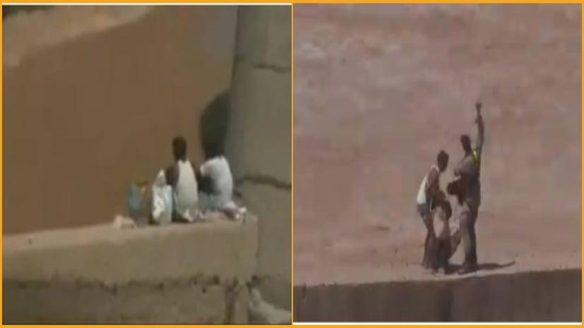 अचानक बढ़ गया जम्मू तवी नदी का जल स्तर, सेना के जवान ने बचाई 2 लोगों की जान
