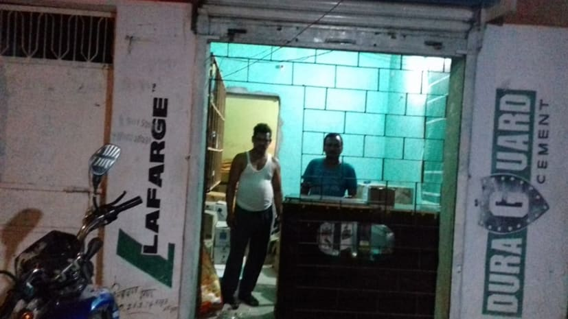 शराब दूकान में लुटेरों ने की जमकर लूटपाट, जांच में जुटी पुलिस
