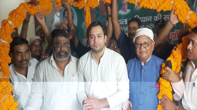 तेजस्वी  यादव ने सुशील मोदी से पूछा कि वे बीजेपी में हैं या फिर नीतीश कुमार के साथ ?