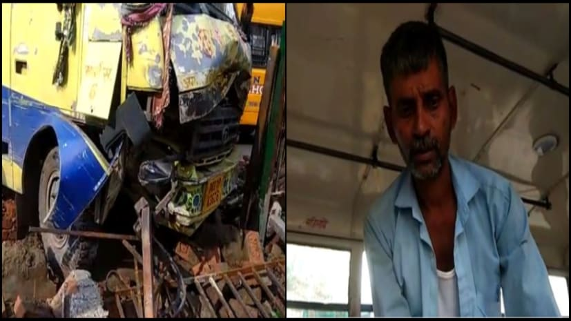 पटना में तेज रफ्तार का कहर जारी, सिटी राइड बस डिवाइडर से टकराई, एक राहगीर की मौत