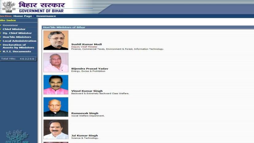 NEWS4NATION इंपैक्टः बिहार सरकार ने मान ली गलती, एक हीं विभाग के दो मंत्री में से एक को हटाया