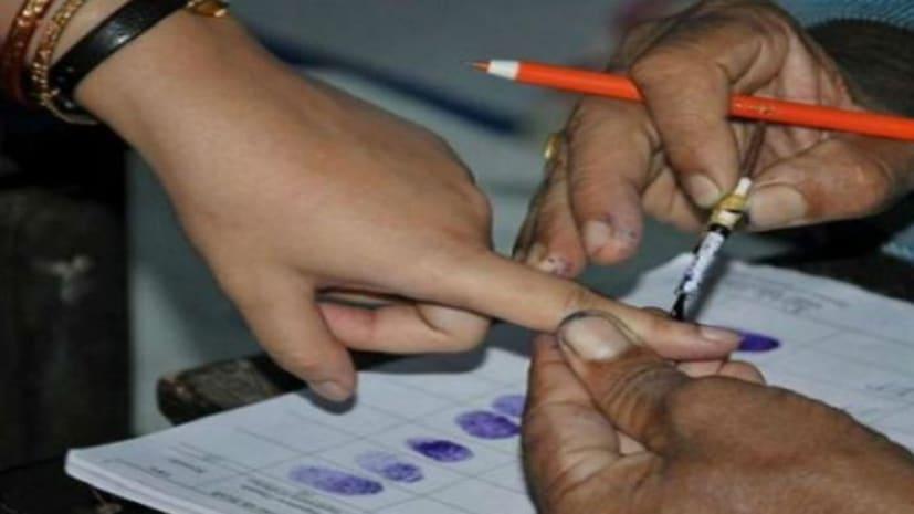 बिहार पंचायत चुनाव : ईवीएम के एक बटन दबाने से 6 प्रत्याशियों के भाग्य का होगा फैसला