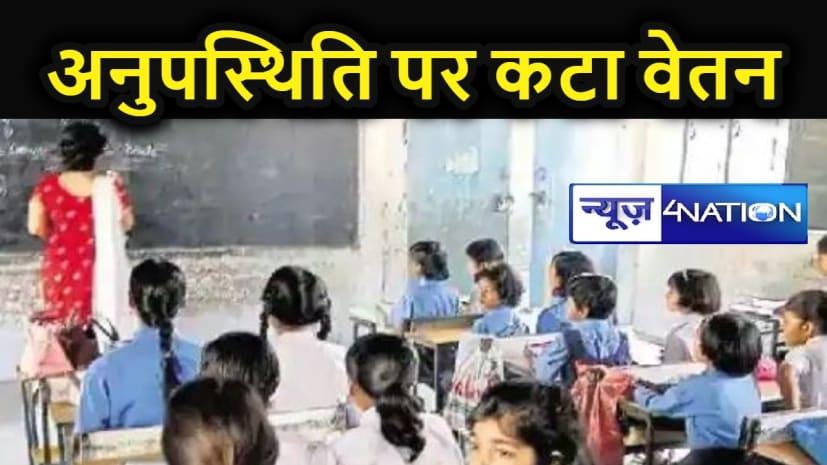 हाई स्कूल के 165 गुरु जी थे गायब, शिक्षा विभाग ने एक दिन का काट लिया वेतन, जानें किस जिले में कितने शिक्षक मिले अनुपस्थित