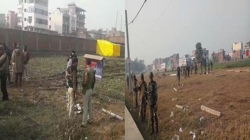 दीघा में सुबह से चल रहा है बवाल, अधिग्रहित जमीन को खाली कराने पहुंची पुलिस से भिड़ी पब्लिक, 12 पुलिसकर्मी घायल