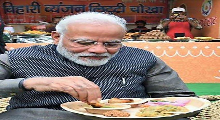 ...जब PM मोदी को भा गया बिहारी लिट्टी-चोखा,कुल्हड़ में पी चाय