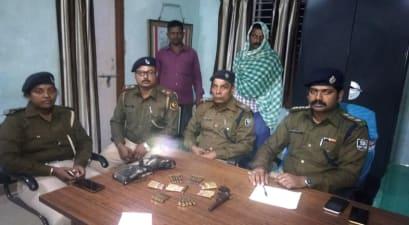 लखीसराय में पुलिस को मिली सफलता, कुख्यात भिखारी सिंह को किया गिरफ्तार