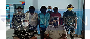 नवादा में SSB की बड़ी कार्रवाई, 3 नक्सली गिरफ्तार