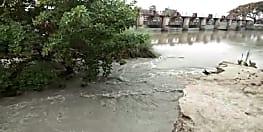 तिरहुत केनाल का टूटा उत्तरी बांध, दर्जनों गांवों पर जलमग्न होने का मंडरा रहा है खतरा