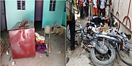 पटना में युवक की हत्या के बाद बवाल, आक्रोशित लोगों ने जिला परिषद् के घर पर बोला हमला