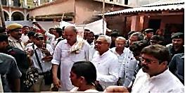 मुख्यमंत्री नीतीश कुमार ने बाढ़ प्रभावित कटिहार का किया दौरा, राहत के बजाय ठोस निदान पर किया मंथन