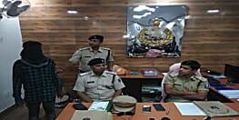पटना पुलिस को मिली सफलता, दीघा से हथियार के साथ एक अपराधी गिरफ्तार