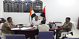 CID के DIG ने मुज़फ़्फ़रपुर पुलिस ऑफिस का  किया इंस्पेक्शन..दिए कई निर्देश