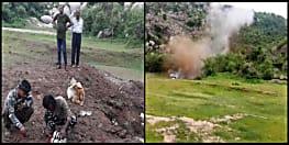 औरंगाबाद में नक्सलियों से बरामद विस्फोटकों के जखीरे को सुरक्षाबलों ने किया डिफ्यूज