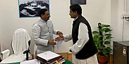 अलीगढ़ मुस्लिम यूनिवर्सिटी सेंटर के फण्ड के लिए मानव संसाधन विकास मंत्री से मिले किशनगंज सांसद डॉ जावेद आजाद