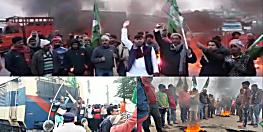 RJD के नेता उतरने लगे सड़क पर, पटना में हाइवे जाम, वैशाली में भी बवाल शुरू
