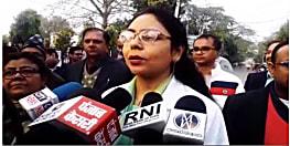 NMCH की घटना का आईएमए ने किया विरोध, मौन जुलूस निकालकर जिलाधिकारी को सौंपा ज्ञापन