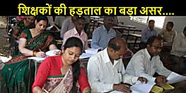 नियोजित शिक्षकों की हड़ताल और कोरोना का असर, बिहार में मैट्रिक परीक्षा की कॉपी जांच की अवधि एक बार फिर से बढ़ा दी गई....