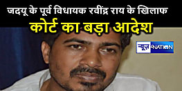 जदयू के पूर्व विधायक रवींद्र राय के खिलाफ कोर्ट का बड़ा आदेश,  पटना और महुआ की संपत्ति होगी कुर्क