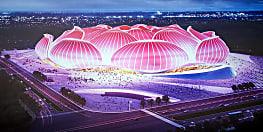 दुनिया कोरोना से परेशान, चीन बना रहा सबसे बड़ा फुटबॉल स्टेडियम