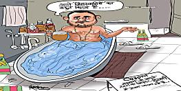 बिहार बीजेपी ने तेजस्वी यादव का जारी किया कार्टून,नेता प्रतिपक्ष को बताया मनोज झा स्कूल ऑफ ट्वीटर पॉलिटिक्स का छात्र