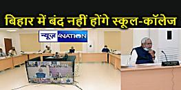 Bihar Corona Update : बिहार में कोरोना रिकवरी 99.24 फीसदी, सीएम ने किया साफ – बंद नहीं होंगे स्कूल-कॉलेज