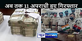 CRIME NEWS: एचडीएफसी बैंक लूट मामला, अब तक एक करोड़ दो लाख बरामद