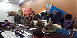 पुलिस को मिली बड़ी सफलता, भारी मात्रा में हथियार के साथ 5 नक्सलियों को किया गिरफ्तार