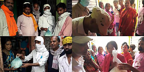लॉक डाउन में गरीबों की मदद में जुटे कांग्रेस नेता कुमार आशीष,बांकीपुर विस क्षेत्र में गरीबों की बीच खाद्ध सामग्री का कर रहे वितरण