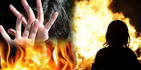लड़की को बीच सड़क पर पेट्रोल डालकर जलाया और मां को फोन कर कहा- मैने तुम्हारी बेटी को जला दिया है