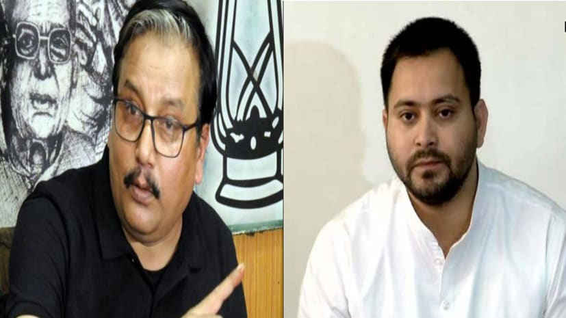 गायब तेजस्वी को लेकर बड़ा खुलासा :  राजद नेता मनोज झा ने कहा-नेता प्रतिपक्ष दिल्ली में हैं