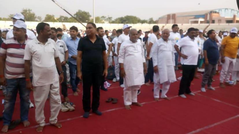 योग दिवस कार्यक्रम में  अलग-थलग दिखे जदयू कोटे के मंत्री, बीजेपी पूरी तरह से थी हावी