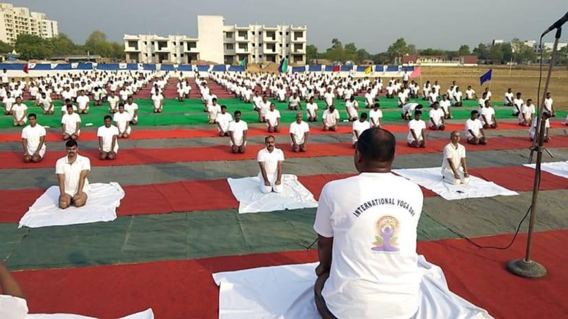 अंतरराष्ट्रीय योग दिवस के अवसर पर NDRF द्वारा योग कार्यक्रम का हुआ आयोजन