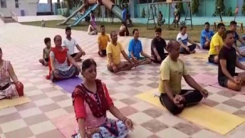 जेल में योग : नवादा में त्योहार की तरह मनाया गया अंतर्राष्ट्रीय योग दिवस