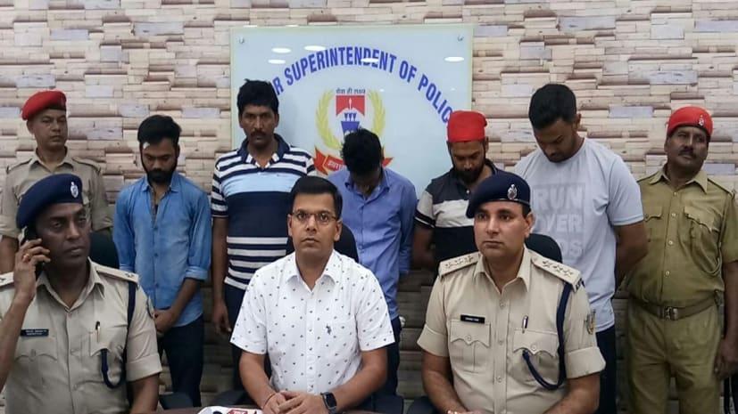 जमशेदपुर में फर्जीवाडा गिरोह का पुलिस ने किया पर्दाफाश, पांच गिरफ्तार