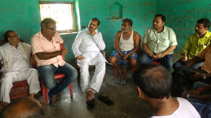 शोक की लहर : राजद नेताओं ने प्रकट की सांसद रामचंद्र पासवान के प्रति गहरी संवेदना