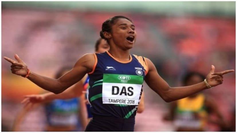 हिमा दास ने 18 दिन के अंदर जीता पाँचवां गोल्ड