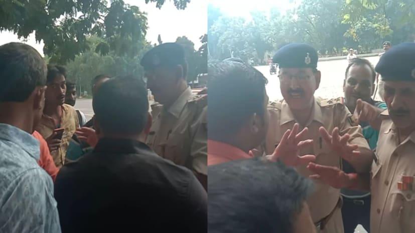 राजभवन के बाहर पुलिसकर्मियों ने पत्रकारों से की बदसलूकी, कवरेज करने से रोकने पर बढ़ा विवाद