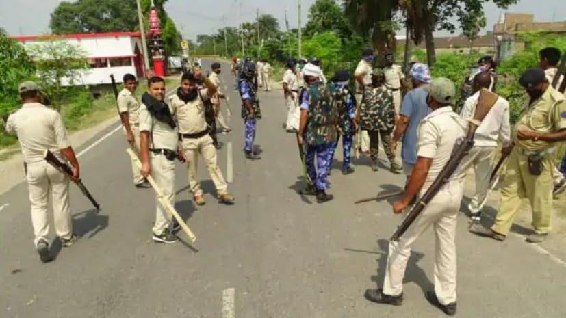 शराब माफियाओं ने पुलिस टीम पर किया हमला, 2 दारोगा समेत कई पुलिसकर्मी घायल,फायरिंग की खबर....
