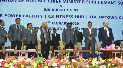 जेएससीए इंटरनेशनल क्रिकेट स्टेडियम में अब मिलेगी कई सुविधाएं, मुख्यमंत्री हेमन्त सोरेन ने किया उद्घाटन