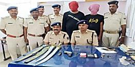 पटना पुलिस को मिली बड़ी सफलता, अपराध की योजना बनाते दो कुख्यात को हथियार के साथ किया गिरफ्तार
