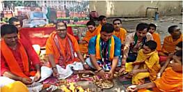 एनडीए की बड़ी जीत के लिए अनुष्ठान, एलजीपी कार्यकर्ता कर रहें है हवन-पूजन