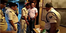 कटिहार में पुलिस को मिली सफलता, 120 लीटर शराब के साथ तीन को किया गिरफ्तार