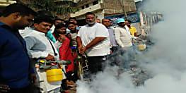 पप्पू यादव ने छेड़ी डेंगू के खिलाफ जंग,मच्छरों से निजात दिलाने के लिए पटनावासियों को सौपीं एक दर्जन फॉगिंग मशीन