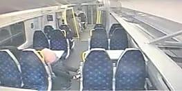 चलती ट्रेन में कपल करने लगे सेक्स, सीसीटीवी कैमरे में कैदी हुई पूरी घटना