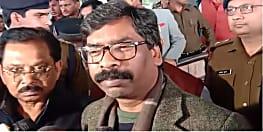 नयी दिल्ली से वापस रांची लौटे हेमंत सोरेन, कहा मंत्रिमंडल विस्तार में कोई अड़चन नहीं