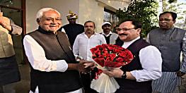 बीजेपी अध्यक्ष जेपी नड्डा ने CM नीतीश से की मुलाकात...आगामी विधानसभा चुनाव पर हुई चर्चा