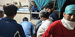 मुज़फ़्फ़रपुर में अपराधियों ने युवक को मारी गोली, इलाज के लिए अस्पताल में कराया गया भर्ती