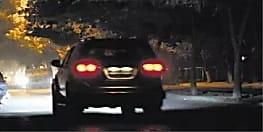 लॉकडाउन तोड़कर कार में ही कर रहा था गुटूर-गूँ पुलिस ने पकड़ा प्रेमी जोड़ा